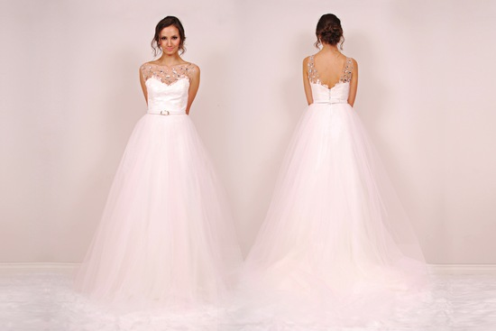 Ball Gown Beaded Wedding Dress