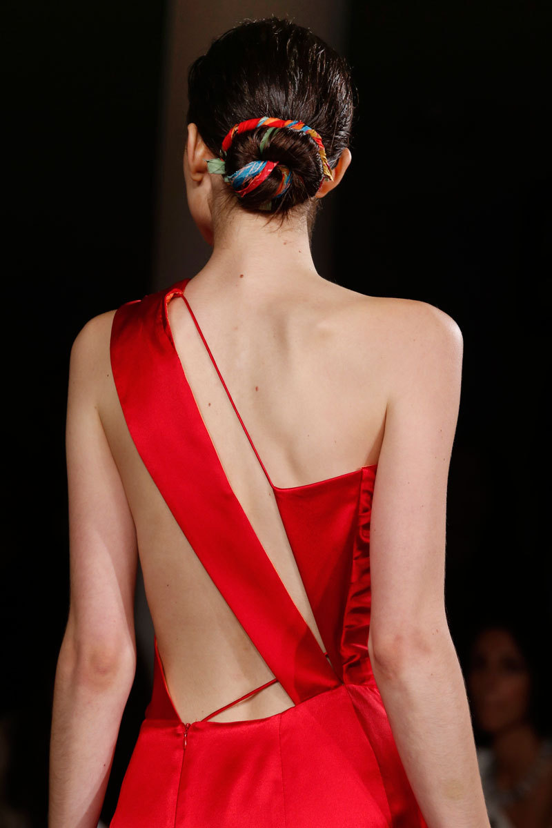Sophie Theallet Fashion Week Inspiration - Lady in Red
