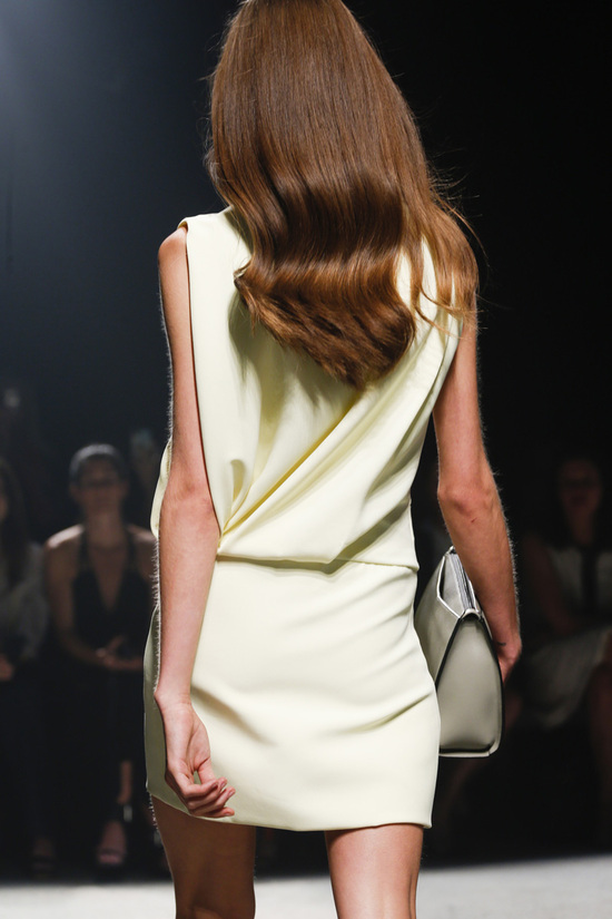 Narciso Rodriguez Fashion Week Inspiration - Bouncy Beautiful Hair