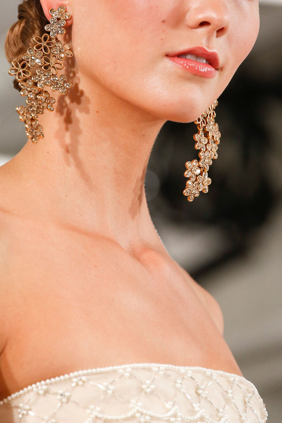 Oscar de la Renta Fashion Week Inspiration - Statement Earrings