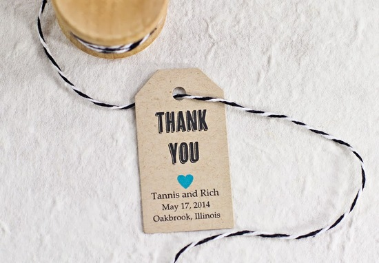 DIY Favor Tags