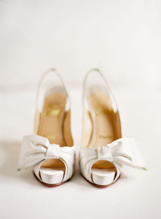 Classic Ivory Wedding Shoes