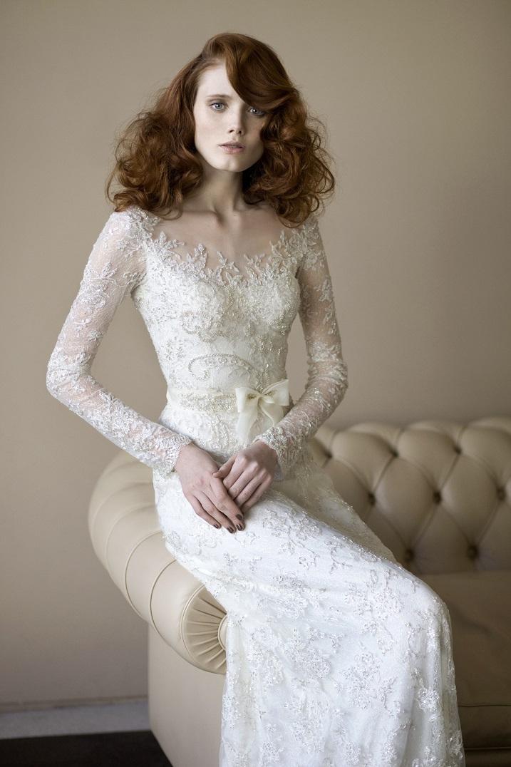 Angelina wedding dress by Mira Zwillinger 2014 bridal