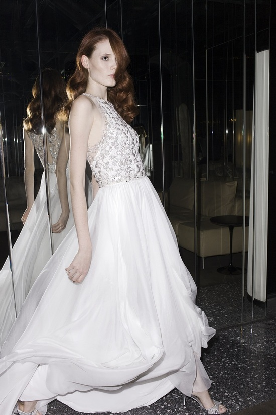 Alexa wedding dress by Mira Zwillinger 2014 bridal