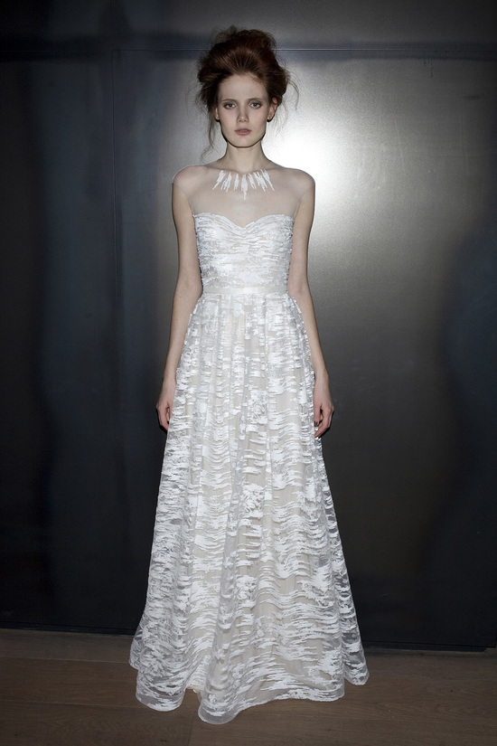 Adele wedding dress by Mira Zwillinger 2014 bridal