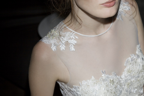 Francis wedding dress by Mira Zwillinger 2014 bridal