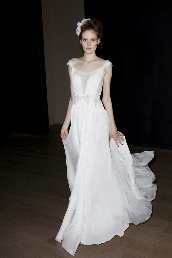 Asheley wedding dress by Mira Zwillinger 2014 bridal