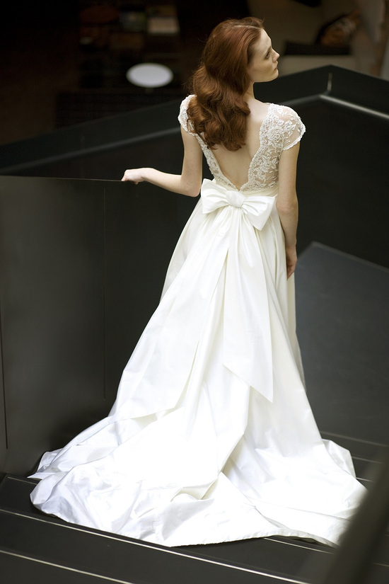 Chloelis wedding dress by Mira Zwillinger 2014 bridal