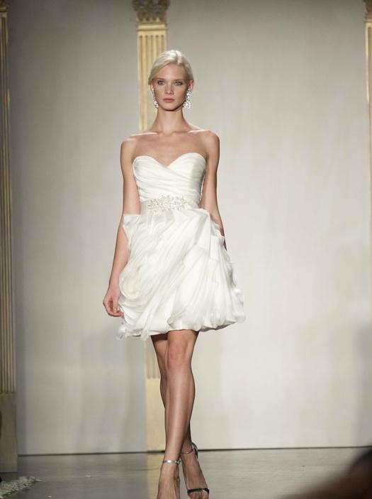 Romantic 2-in-1 wedding dress