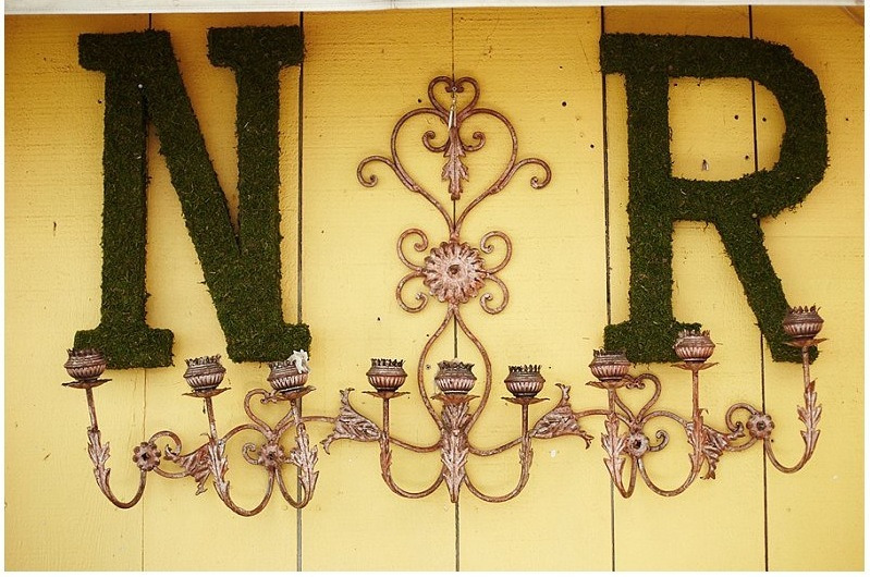 Moss-wedding-monogram-hanging-on-the-wall.full