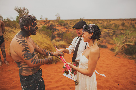 Eloped in Uluru - An unconventional officiant
