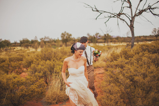 Eloped in Uluru - The new Mr. and Mrs.
