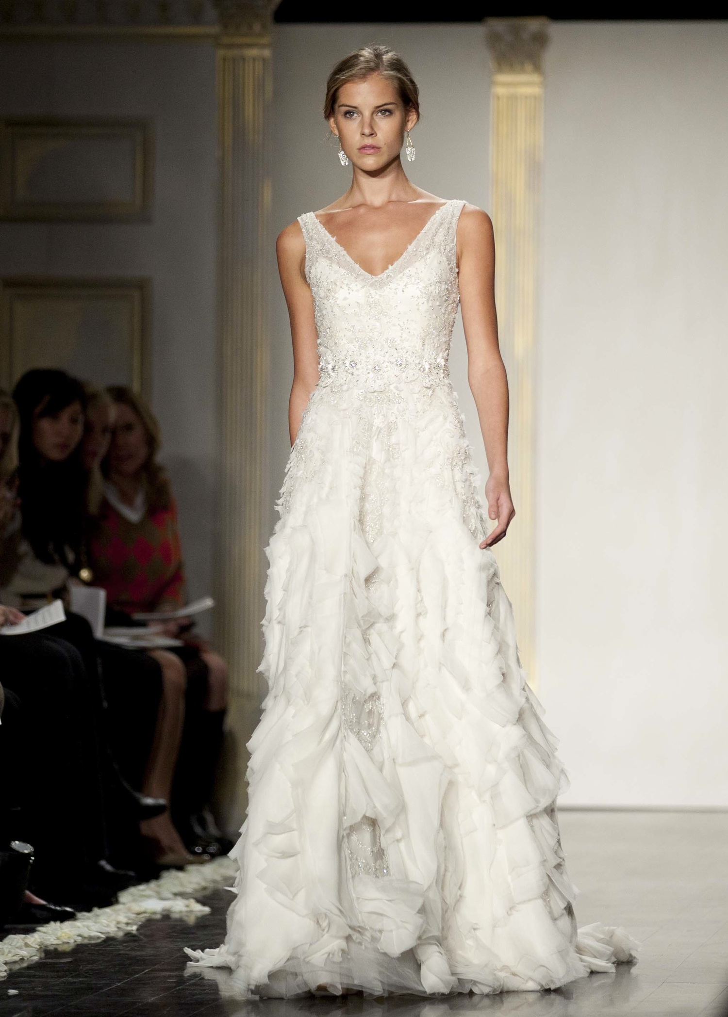 Vintage Wedding Dresses For A Fall Wedding Wedding Dress Lazaro Fall