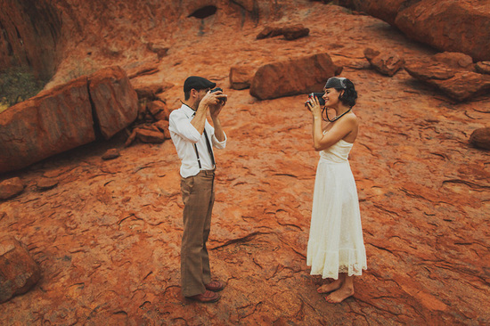 spiritual elopement in Australia real wedding inspiration 59
