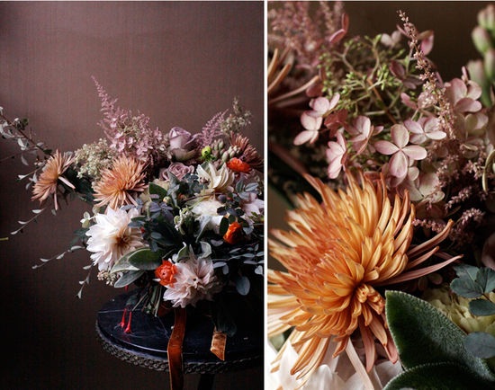 Autumn Wedding Flowers and Decor - Spotlight Stealing Arrangements