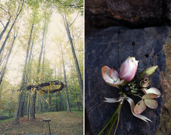 Autumn Wedding Flowers and Decor for Romantic Brides