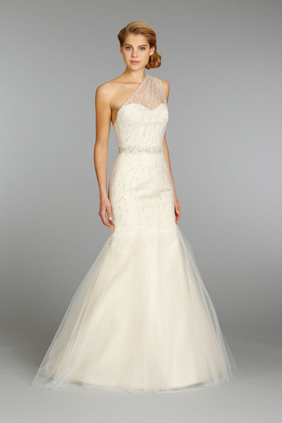 Jim Hjelm wedding dress fall 2013 bridal 8352