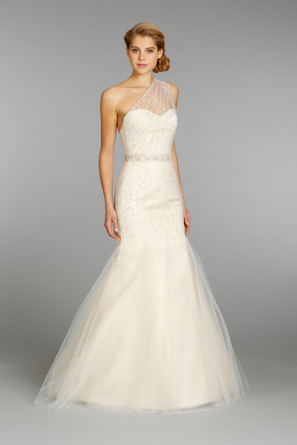 Jim hjelm wedding dress fall 2013 bridal 8352 for Jim hjelm wedding dresses