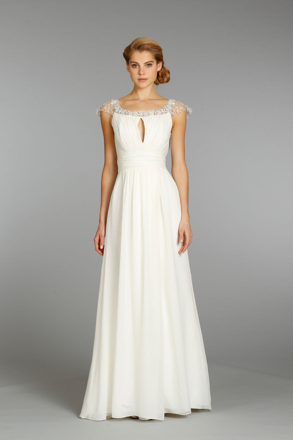 Jim hjelm wedding dress fall 2013 bridal 8354 for Jim hjelm wedding dresses
