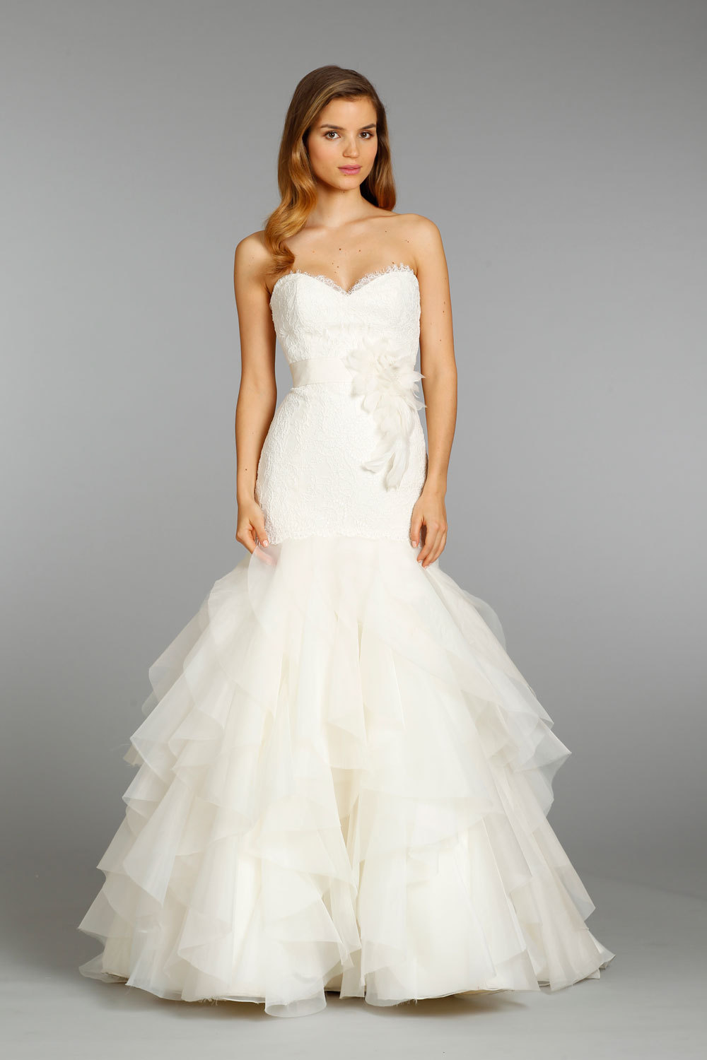 Jim hjelm wedding dress fall 2013 bridal 8356 for Jim hjelm wedding dresses