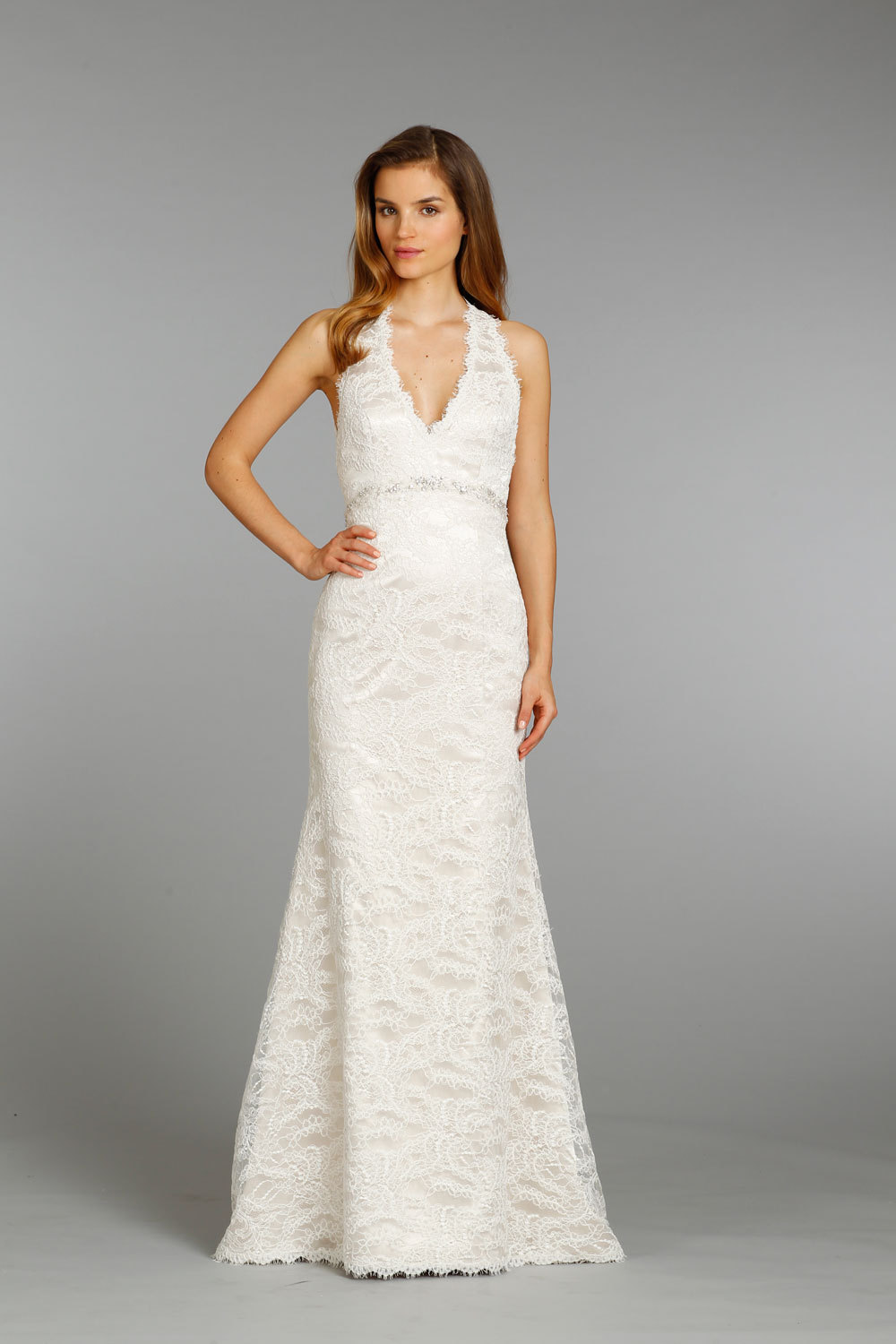 Jim hjelm wedding dress fall 2013 bridal 8359 for Jim hjelm wedding dresses