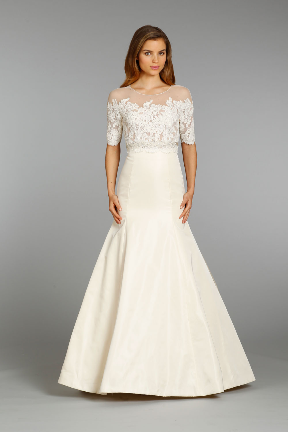 Jim hjelm wedding dress fall 2013 bridal 8360 for Jim hjelm wedding dresses
