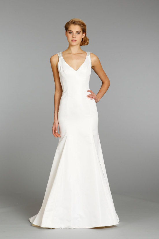 Jim Hjelm wedding dress fall 2013 bridal 8361