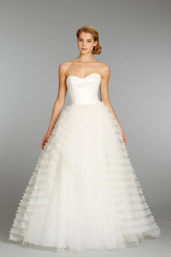 Jim Hjelm wedding dress fall 2013 bridal 8365