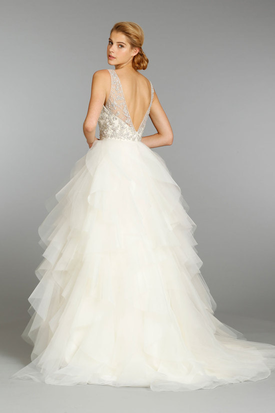 Beaded Ball Gown Wedding Dress