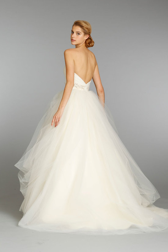 Jim Hjelm wedding dress fall 2013 bridal 8351