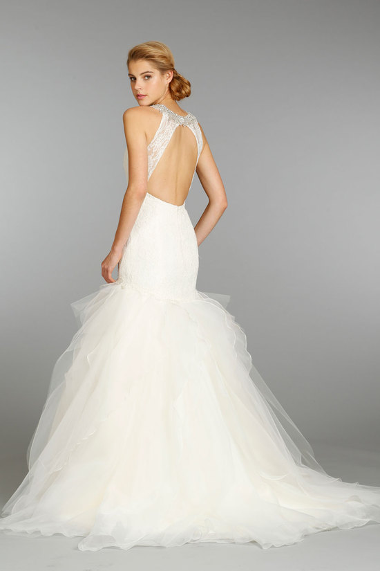 Jim Hjelm wedding dress fall 2013 bridal 8350