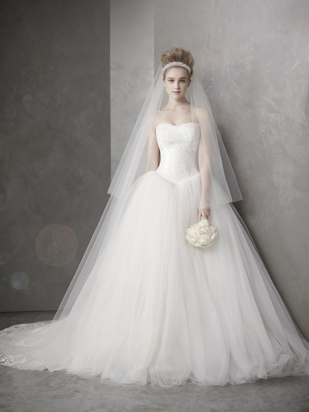 Classic Ballgown Wedding Dress Inspired By Kim Kardashian S Vera