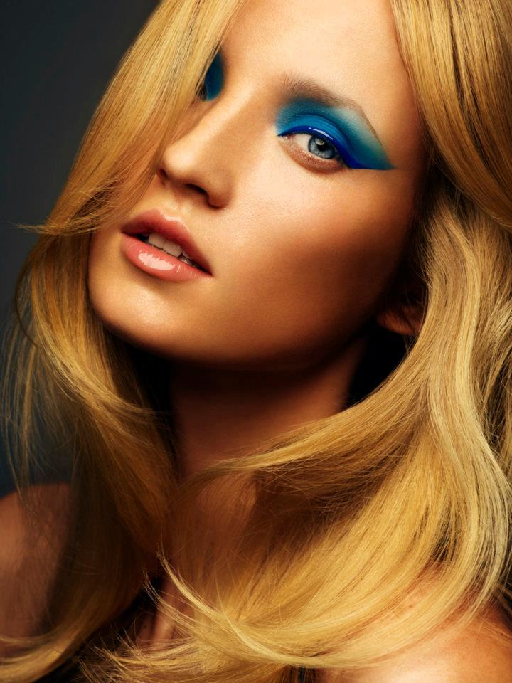 Ombre Blue Eyes For The Brides Something Blue