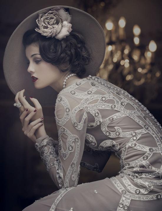 photo of Daring Wedding Hair and Makeup Inspiration