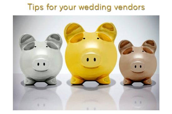 Who to tip, and how much, for your wedding day