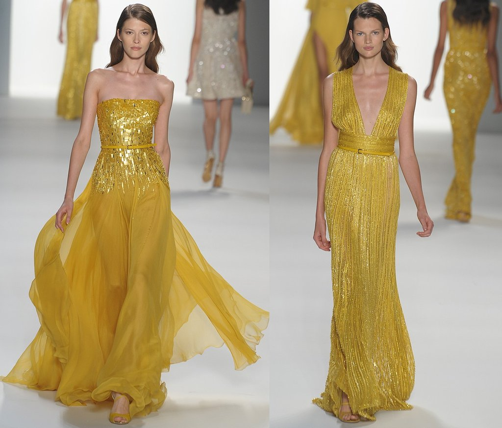 Elie-saab-mustard-bridesmaid-dresses-beading-2011-wedding-trends.full