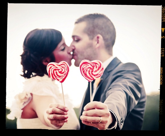 photo of Delicious Love-themed Wedding in France