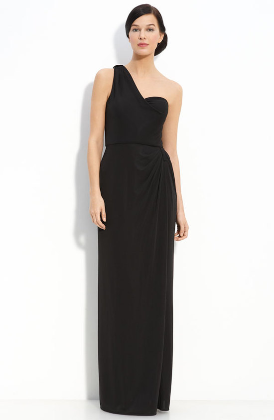 photo of Eliza J One Shoulder Jersey Dress