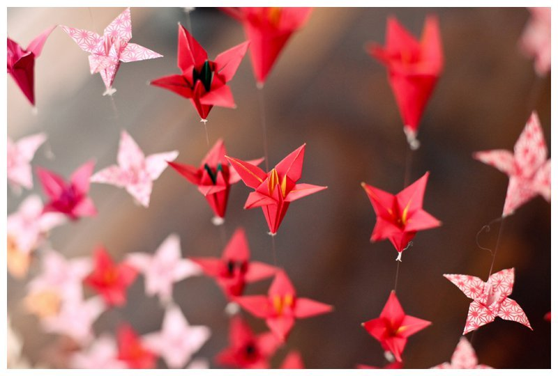 Origami Crane Mobile, Origami Wedding Gift, Guests Gifts, Good ... | 540x800