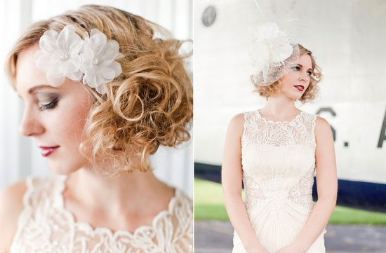 photo of Ultra-Feminine Wedding Hair Accessories by Portobello