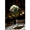 Elegant-wedding-reception-decor-high-table-centerpieces-green-ivory-wedding-flowers.square