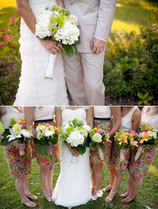 Outdoor boho chic wedding