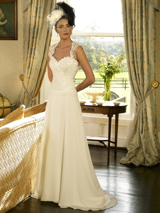 Sophia wedding dress by Kathy de Stafford 2013 bridal