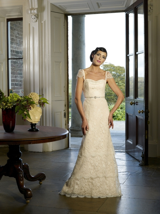 Salesa wedding dress by Kathy de Stafford 2013 bridal