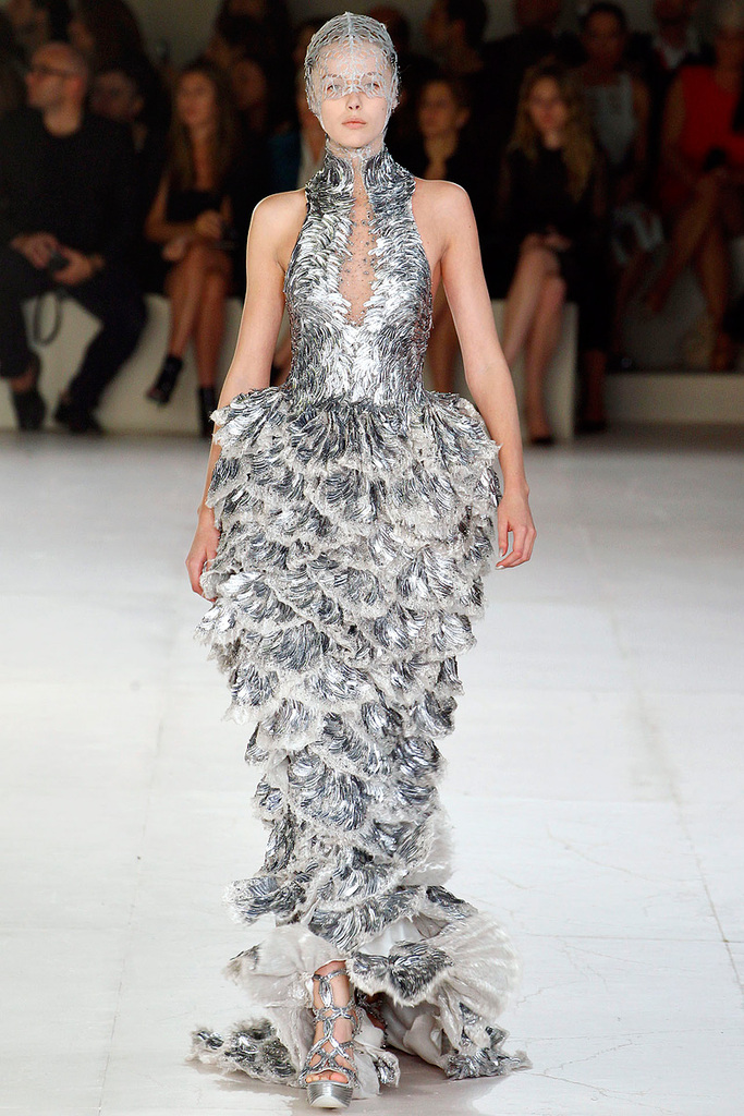photo of Alexander McQueen Spring 2012: Sea-Inspired Dresses