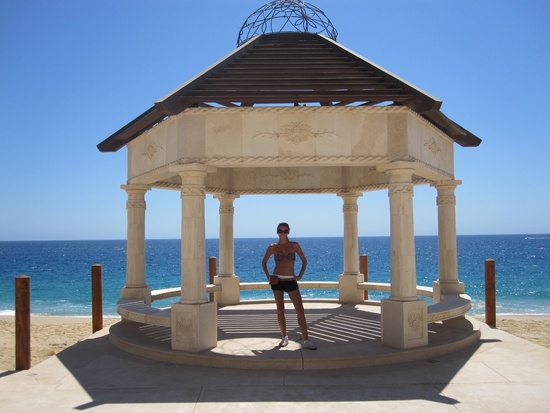 Wedding ceremony gazebo in Cabo San Lucas
