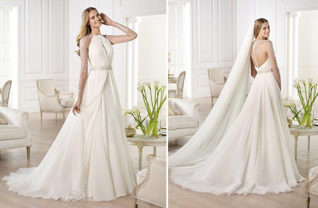 Wedding Dresses For Fall 2014 Bridal Pronovias Atelier