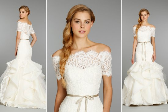 Classic Sleeved Wedding Dress