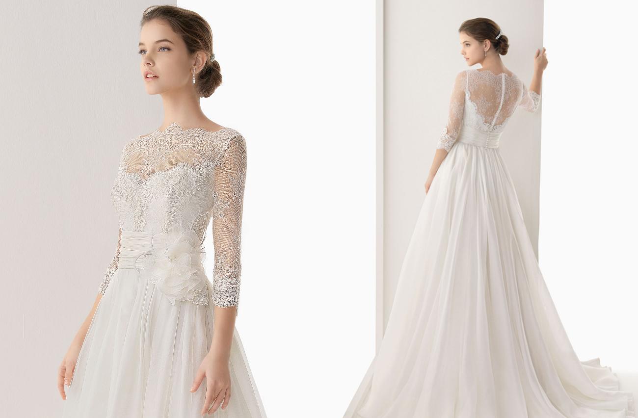 Wedding Dresses For Fall 2014 Rosa Clara