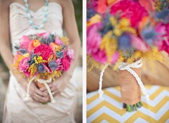 photo of Vibrant Summer Wedding Inspiration
